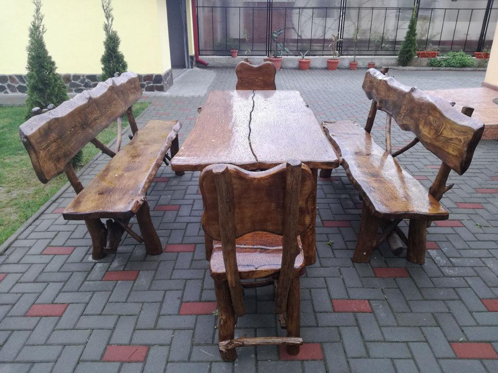 mobilier rustic gradina